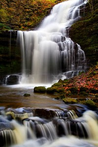 Scaleber Force near Settle Yorkshire Dales National Park England