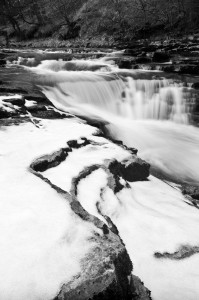 stainforth foss snow