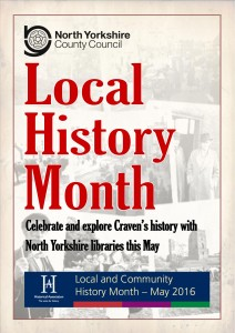 Local History Month Flyer Front