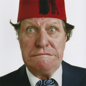 NPG x128497; Tommy Cooper by Thomas Patrick John Anson, 5th Earl of Lichfield