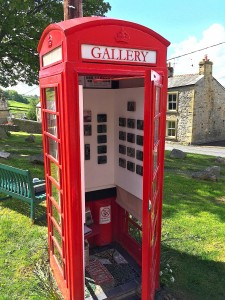 settle phone box gallery on the green
