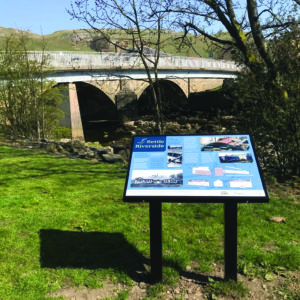 New panels will enhance Settle riverside