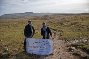 Glencroft scarf raises £1,100 to support  the Yorkshire Dales Three Peaks Project